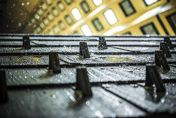 Die Dachplatte
