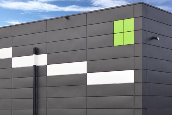 Fassade Grollegg green